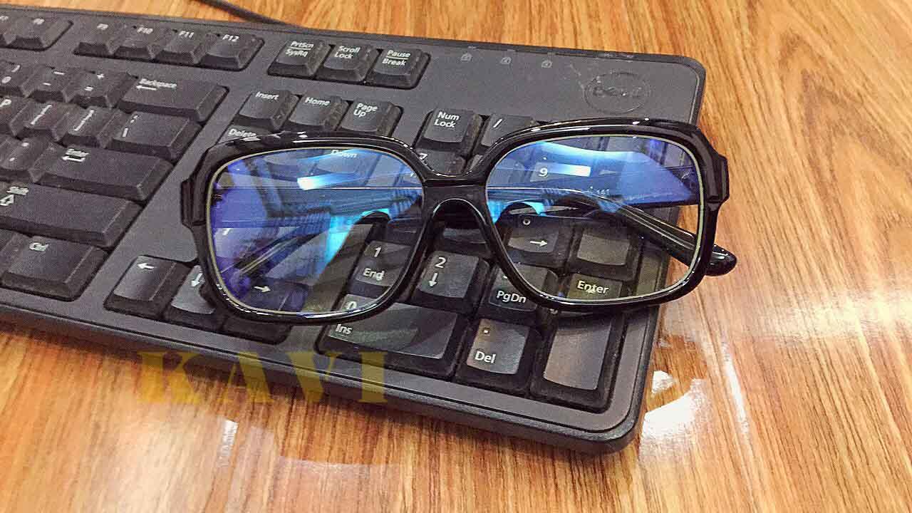 kính máy tính chống ánh sáng xanh kv008